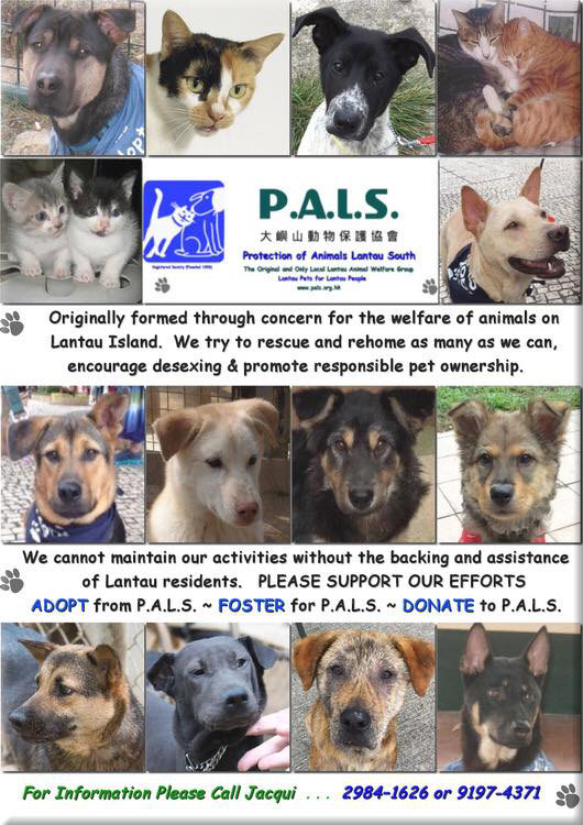 PALS - Protection Of Animals Lantau South