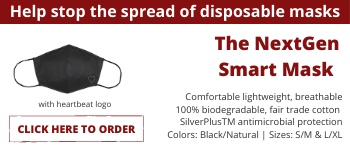 Help stop the spread of disposable masks ... naturally