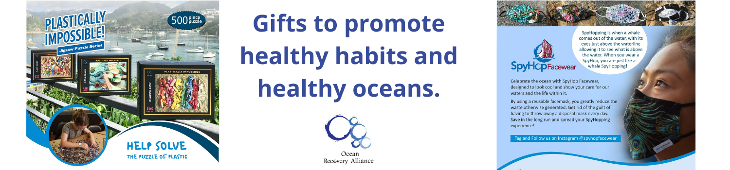 Healthy holiday gifts for healthy oceans